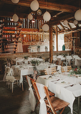 Stodola Smrčí galerie svatba